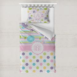 Girly Girl Toddler Bedding w/ Monogram