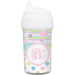 Girly Girl Toddler Sippy Cup (Personalized)