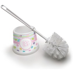 Girly Girl Toilet Brush (Personalized)