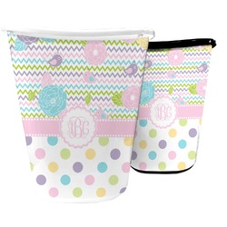 Girly Girl Waste Basket (Personalized)