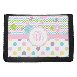 Girly Girl Trifold Wallet (Personalized)