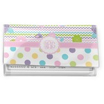Girly Girl Vinyl Checkbook Cover (Personalized)