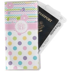 Girly Girl Travel Document Holder