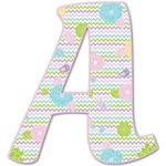 Girly Girl Letter Decal - Custom Sized (Personalized)