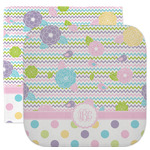 Girly Girl Facecloth / Wash Cloth (Personalized)