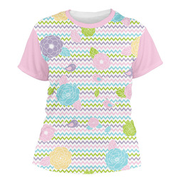Girly Girl Women's Crew T-Shirt (Personalized)
