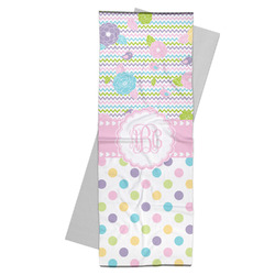 Girly Girl Yoga Mat Towel (Personalized)