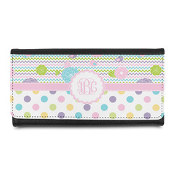 Girly Girl Leatherette Ladies Wallet (Personalized)