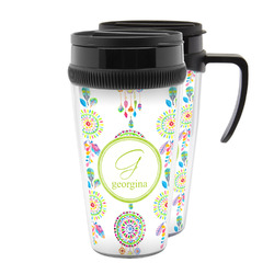 Dreamcatcher Acrylic Travel Mugs (Personalized)