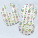 Dreamcatcher Baby Bib & Burp Set w/ Name and Initial