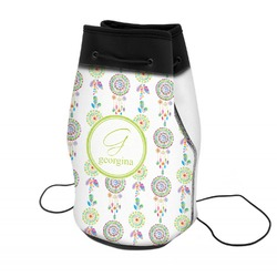Dreamcatcher Neoprene Drawstring Backpack (Personalized)