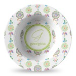 Dreamcatcher Plastic Bowl - Microwave Safe - Composite Polymer (Personalized)