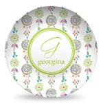 Dreamcatcher Microwave Safe Plastic Plate - Composite Polymer (Personalized)
