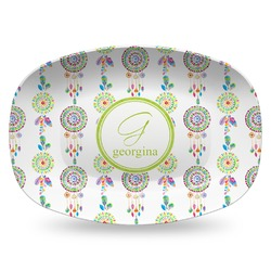 Dreamcatcher Plastic Platter - Microwave & Oven Safe Composite Polymer (Personalized)