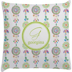 Dreamcatcher Decorative Pillow Case (Personalized)