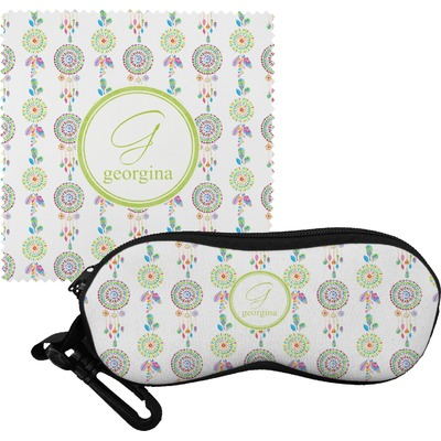 Dreamcatcher Eyeglass Case & Cloth (Personalized)