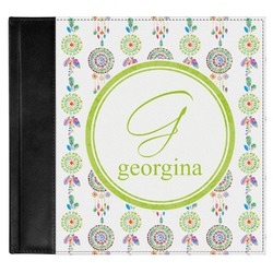 Dreamcatcher Genuine Leather Baby Memory Book (Personalized)