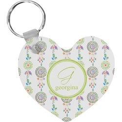 Dreamcatcher Heart Keychain (Personalized)