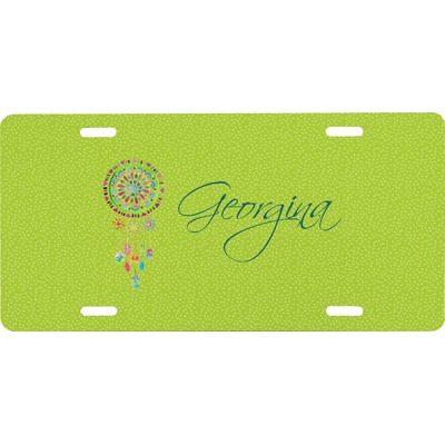 Dreamcatcher Front License Plate (Personalized)