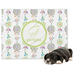 Dreamcatcher Minky Dog Blanket (Personalized)