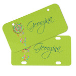 Dreamcatcher Mini/Bicycle License Plates (Personalized)