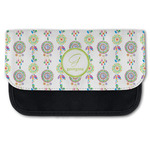 Dreamcatcher Canvas Pencil Case w/ Name and Initial