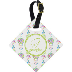 Dreamcatcher Diamond Luggage Tag (Personalized)