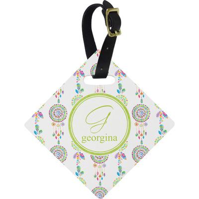 Dreamcatcher Diamond Luggage Tag (Personalized)