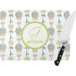 Dreamcatcher Rectangular Glass Cutting Board (Personalized)