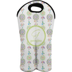 Dreamcatcher Wine Tote Bag (2 Bottles) (Personalized)