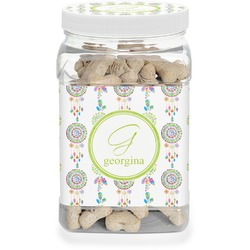 Dreamcatcher Pet Treat Jar (Personalized)