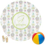 Dreamcatcher Round Beach Towel (Personalized)