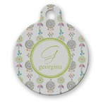 Dreamcatcher Round Pet Tag (Personalized)