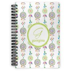 Dreamcatcher Spiral Bound Notebook (Personalized)