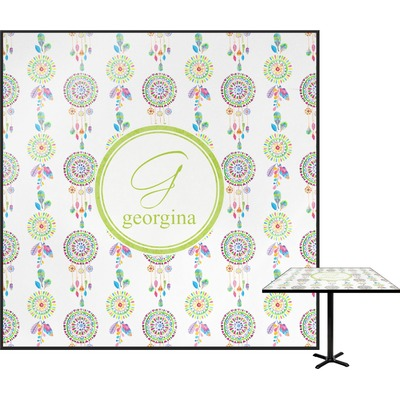 """Dreamcatcher Square Table Top - 30"""" (Personalized)"""
