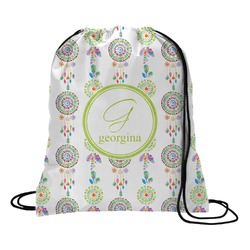 Dreamcatcher Drawstring Backpack (Personalized)