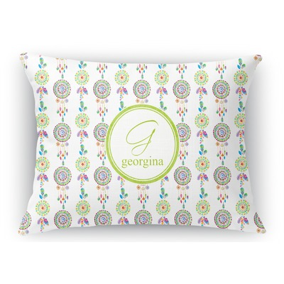Dreamcatcher Rectangular Throw Pillow Case (Personalized)