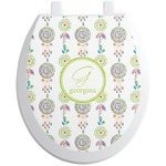 Dreamcatcher Toilet Seat Decal (Personalized)