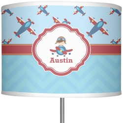 "Airplane Theme 13"" Drum Lamp Shade (Personalized)"