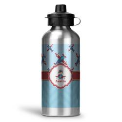 Airplane Theme Water Bottle - Aluminum - 20 oz (Personalized)