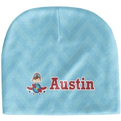 Airplane Theme Baby Hat (Beanie) (Personalized)