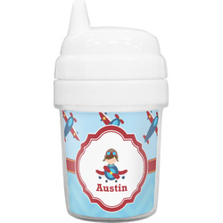 Airplane Theme Baby Sippy Cup (Personalized)