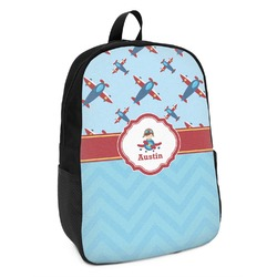 Airplane Theme Kids Backpack (Personalized)