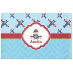 Airplane Theme Woven Mat (Personalized)