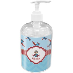 Airplane Theme Soap / Lotion Dispenser (Personalized)