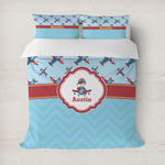 Airplane Theme Duvet Covers (Personalized)
