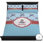 Airplane Theme Duvet Cover Set (Personalized)
