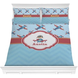 Airplane Theme Comforter Set (Personalized)
