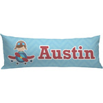 Airplane Theme Body Pillow Case (Personalized)
