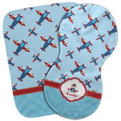 Airplane Theme Burp Cloth (Personalized)